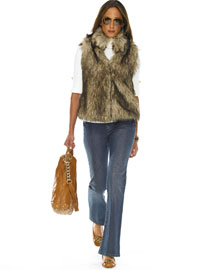Michael by Micahel Kors faux coyote